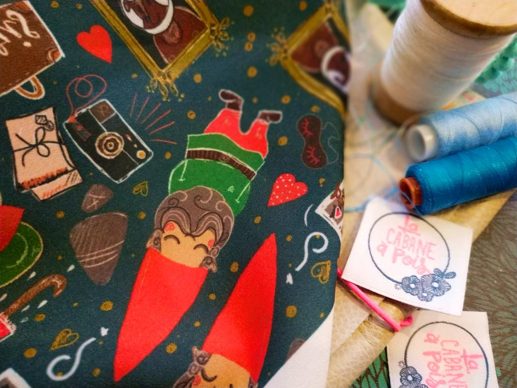 nouveau motif textile pour foulard