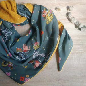 foulard jude crepe