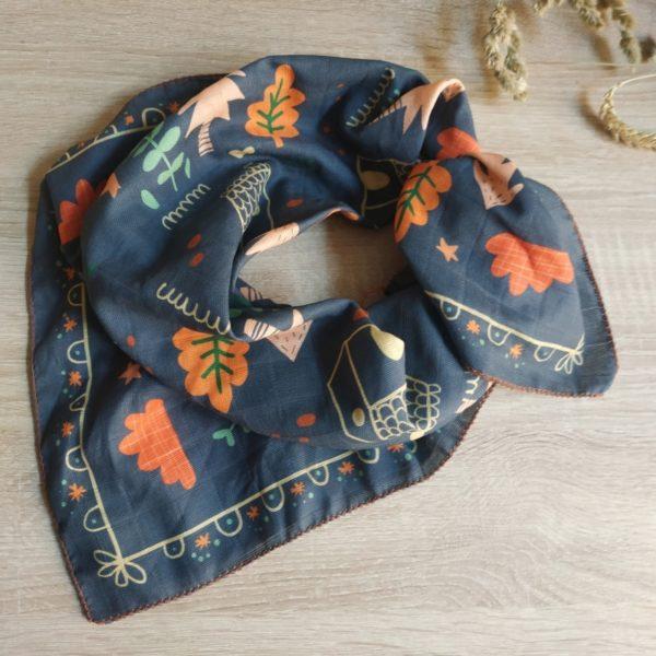 foulard emilie face